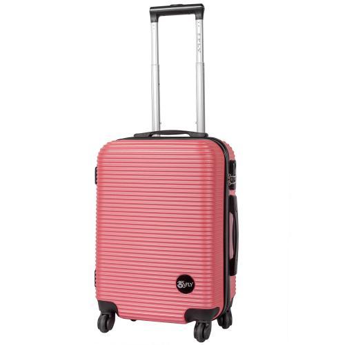 Чемодан Fly 91240 S+  ярко-розовый