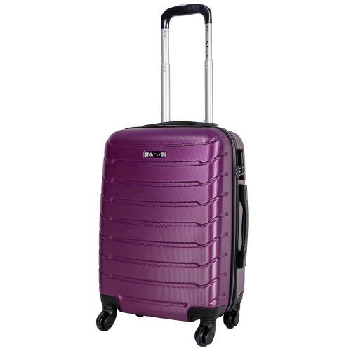 Чемодан Fly 1107 S+ фиолетовый