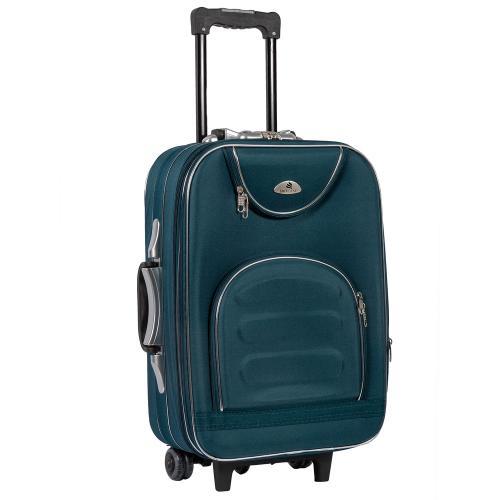 Чемодан Suitcase 801 S+ темно - зеленый