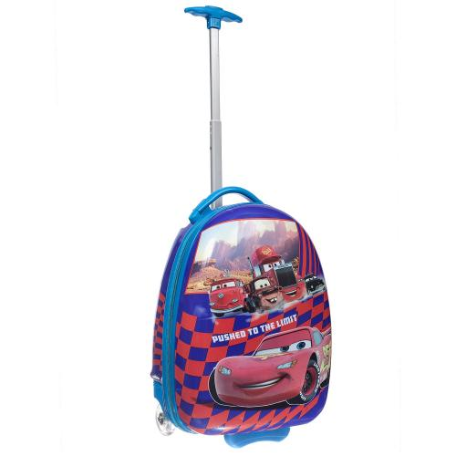 Детский чемодан 2 колеса «Тачки»