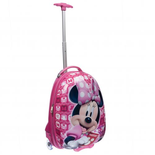 Детский чемодан 4 колеса «Минни Маус»