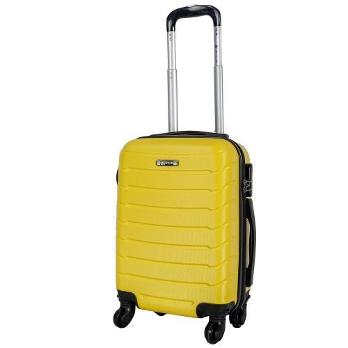 Чемодан Fly 1107 S желтый