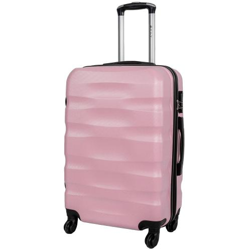 Чемодан Fly 1113 M светло-розовый