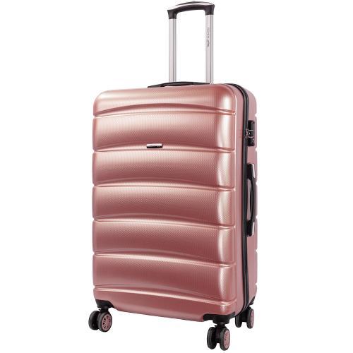 Чемодан Wings PC160 L светло - розовый