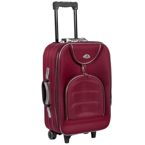 Чемодан Suitcase 801 S+ бордовый