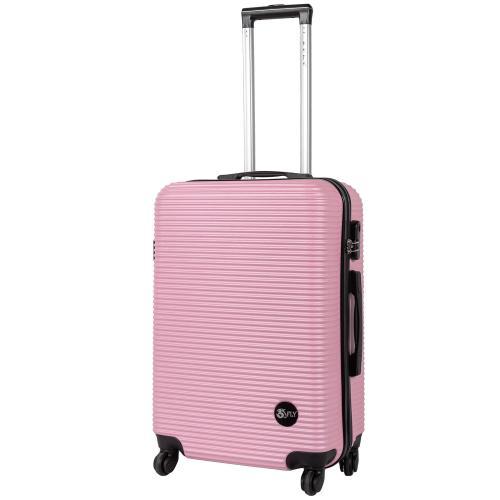 Чемодан Fly 91240 M светло - розовый