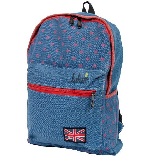 Рюкзак Color Style Casual Flag голубой