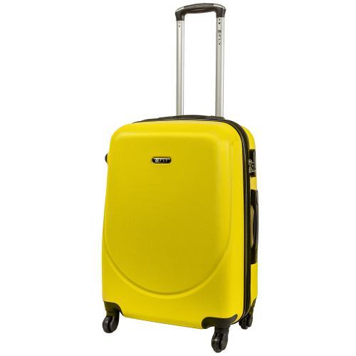 Чемодан Fly 310 M желтый