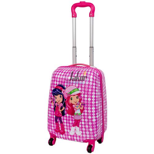 Детский чемодан 4 колеса «Две поющие девочки»