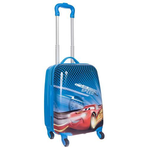 Детский чемодан 4 колеса «Молния Маккуин »