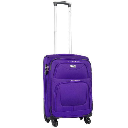 Чемодан Fly 1220 - 4 S+ фиолетовый