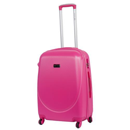 Чемодан Wings 310K M ярко-розовый