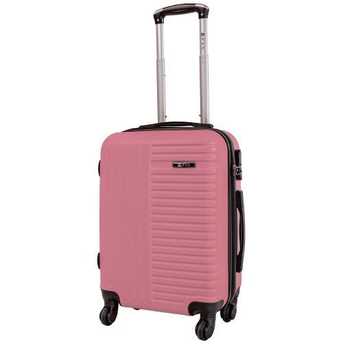 Чемодан Fly 1096 S+ светло - розовый