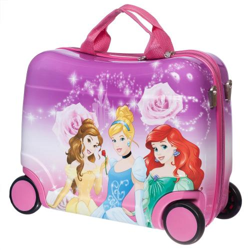 Детский чемодан-каталка на 4 колёсах  Принцессы 2