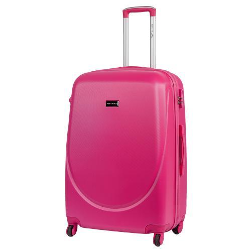 Чемодан Wings 310K L ярко-розовый