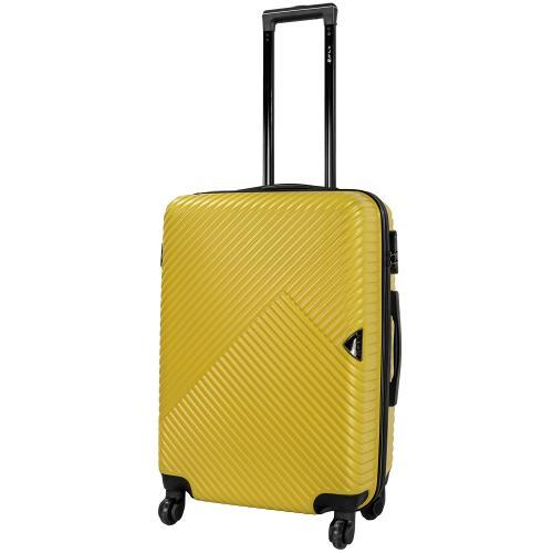 Чемодан Fly 2702 M желтый