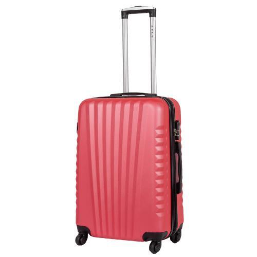 Чемодан Fly 8844 M ярко-розовый