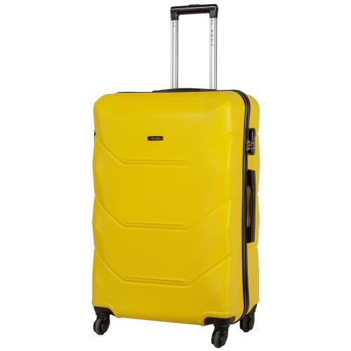 Чемодан Fly 147 L желтый