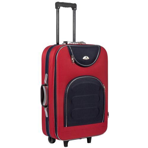Чемодан Suitcase 801 M красно-синий