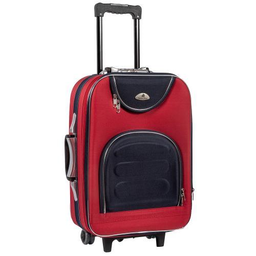Чемодан Suitcase 801 S+ красно-синий