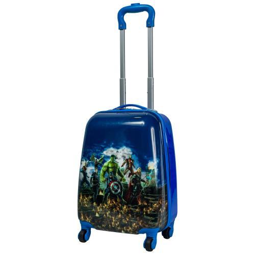 Детский чемодан 4 колеса «Супер герои»