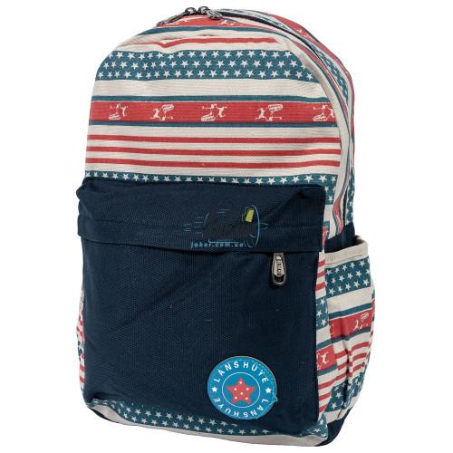 Рюкзак Color Style Casual Star синий