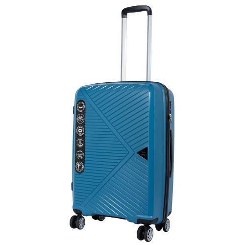 Чемодан Wings PP-06 M ярко-голубой