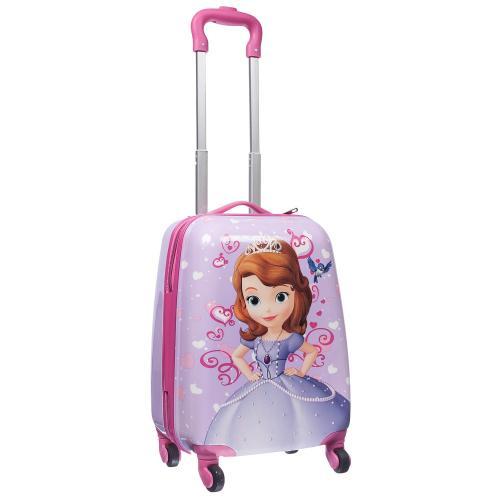 Детский чемодан 4 колеса «София Прекрасная 2»