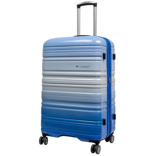 Чемодан Snowball 85703 L голубой