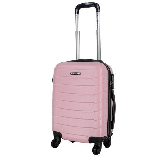 Чемодан Fly 1107 S+ светло-розовый