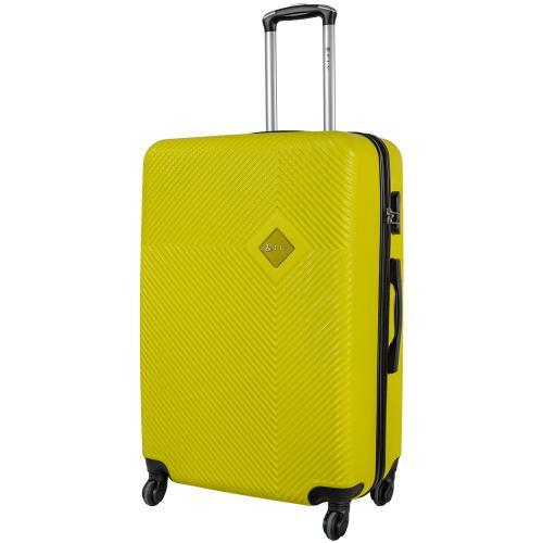 Чемодан Fly 2130 L желтый