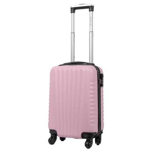 Чемодан Fly 8844 S+ светло - розовый
