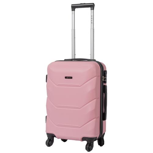 Чемодан Fly 147 S+ светло - розовый