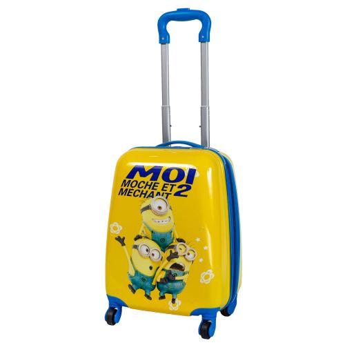 Детский чемодан 4 колеса «Миньоны 3»