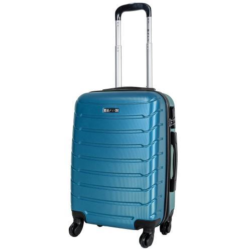 Чемодан Fly 1107 S+ темно-голубой