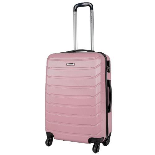 Чемодан Fly 1107 M светло-розовый
